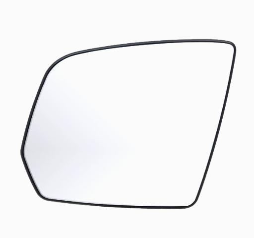 Fits 08-10 Mercedes GL, ML Left Driver Heated* Mirror Glass w/Holder