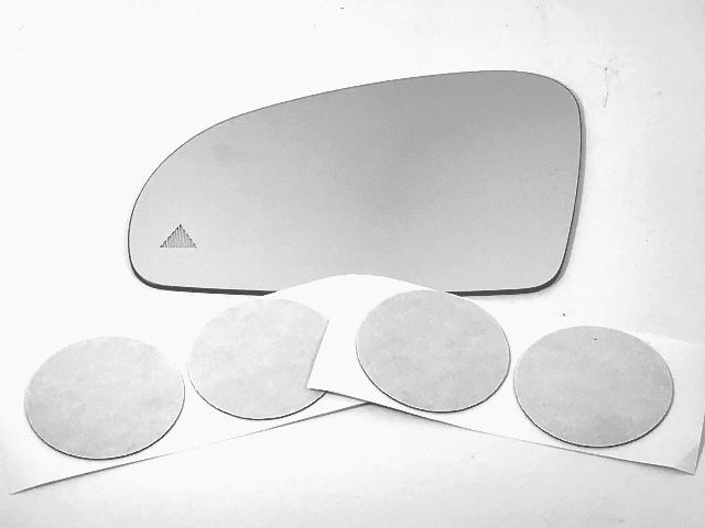 Fits MB SL, SLK, SLC Left Mirror Glass Lens w/Blind Spot Icon see details