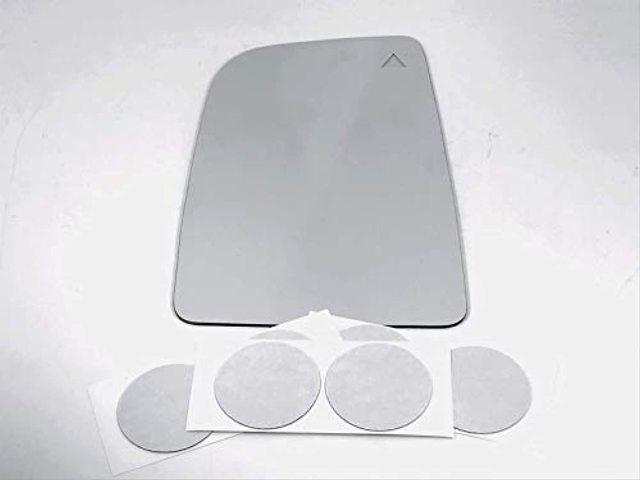 VAM Fits 12-20 Sprinter Left Dr Upper Mirror Glass Lens w/BlindSpot Icon w/Adhesive