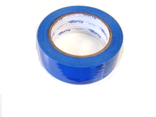 """1 Roll Molding Tape - All Weather, No residue - 1.5"""" x 108' Blue perforated (6"""")"""