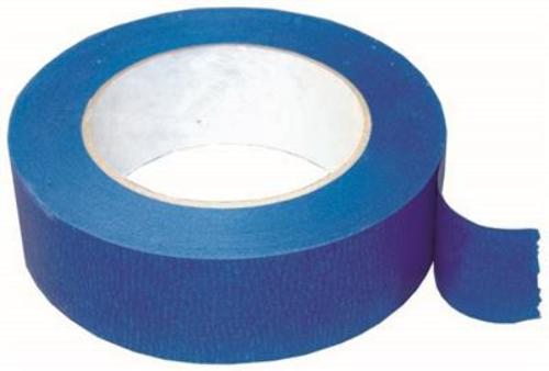 """1 Roll No Residue Blue Masking Tape 1"""" x 60 yds (24mm x 180')"""