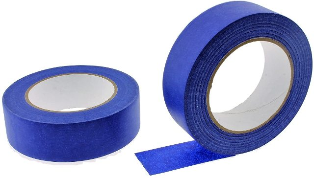 "1 Roll No Residue Blue Masking Tape 1.5"" x 60 yds (36mm x 180')"