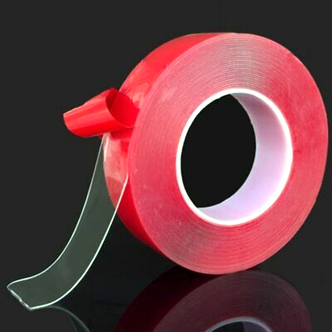 "Clear Double-Sided Attachment Tape 1/4"" x 16.5'"