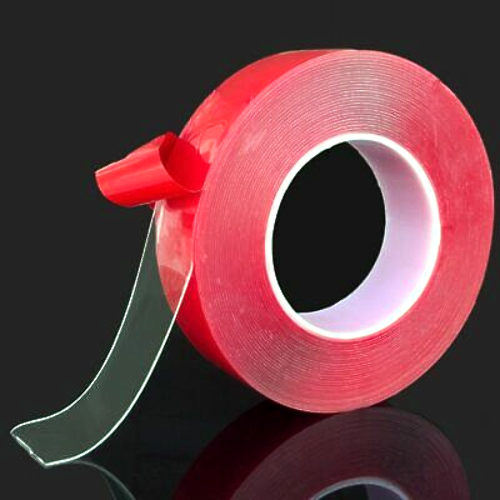 """Clear Double-Sided Attachment Tape 3/8"""" x 16.5'"""