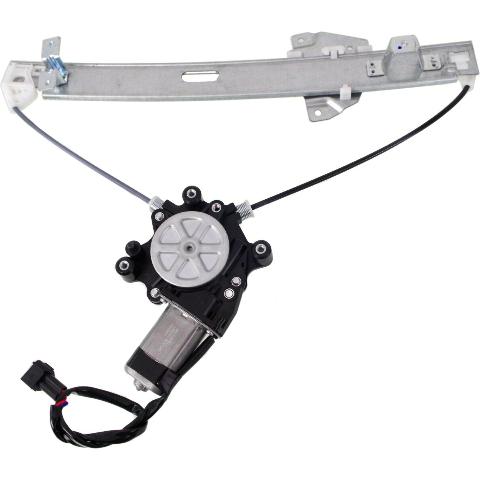 Fits 04-12  Galant Rear Passenger Power Window Regulator with Motor