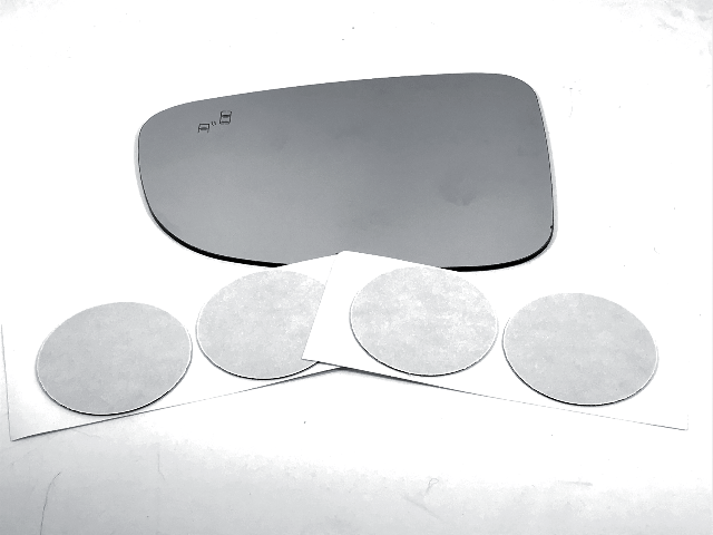 For 17-18 Maz 3, 17-19 Maz 6 Left Driver Mirror Glass Lens w/ Blind Spot Icon
