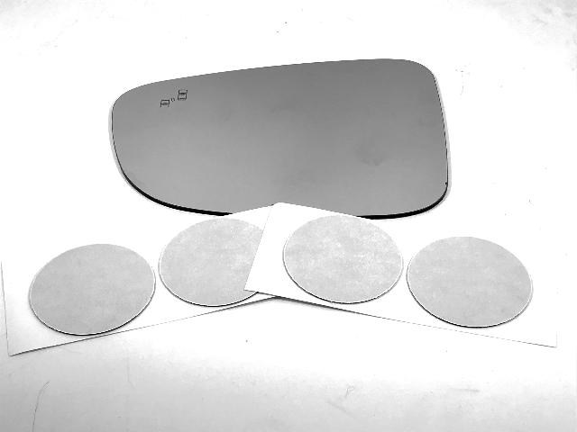For 14-18 Maz 3, 14-19 Maz 6 Left Driver Mirror Glass Lens w/ Blind Spot Icon