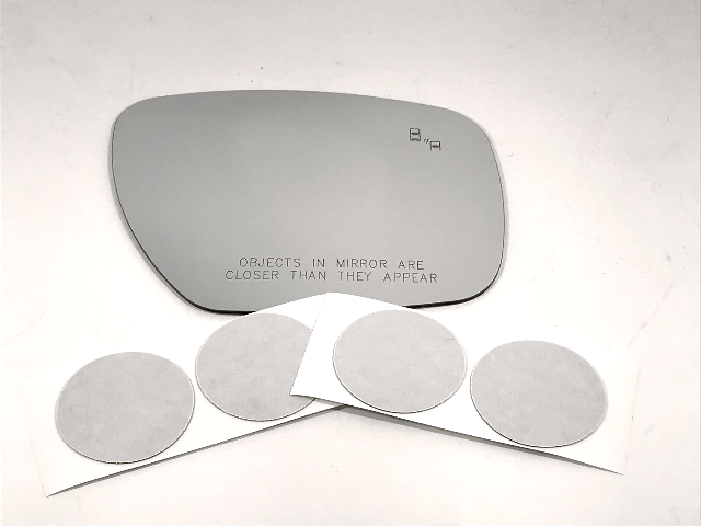 Fits 10-12 MZ CX7, 07-09 CX9 Right Pass Mirror Glass Lens w/Blind Spot Icon