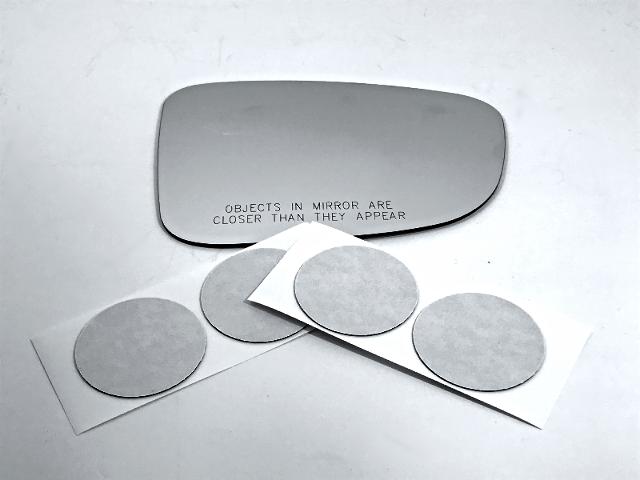 Fits 14-18 Mazda 3, 14-16 Mazda 6 Right Pass Mirror Glass Lens w/Adhesive USA