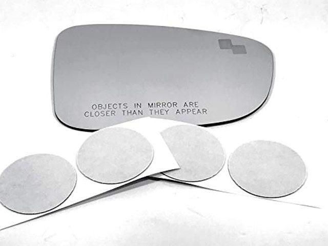 VAM for 14-16 Maz 3 Right Pass Mirror Glass Lens w/Blind Spot Icon