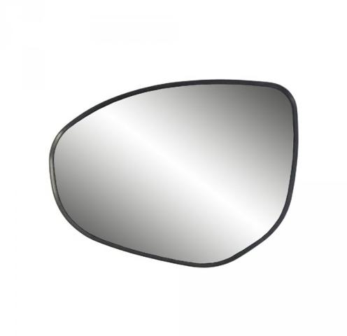 Fits 11-14 Mazda 2, 10-13 Mazda 3 Left Driver Heated Mirror Glass w/ Back Plate