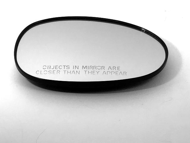 Fits 06-15 Mazda MX-5 Miata Right Passenger Mirror Glass w/ Holder OE