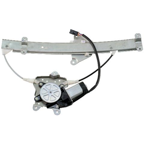 For 89-94 Maxima Rear Right Passenger Door Window Motor Regulator