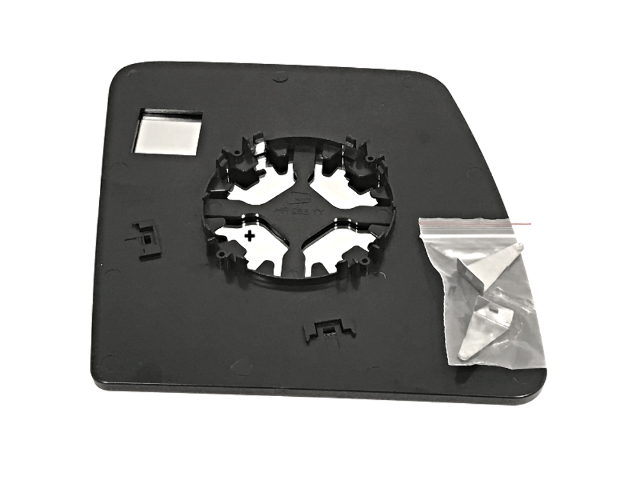 NV2500 VAM Fits 12-19 NIS NV1500 NV3500 Left Upper//Lower Set Mirror Glass w//Holders Single Arm Non Extending