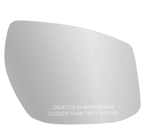 Fits 13-18 Altima w/Signal in Housing 13-19 Sentra Right Pass Mirror Glass Lens