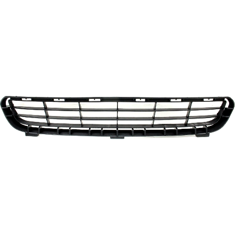 For 07-09 Camry Bumper Front Grille Textured Black Lower Center