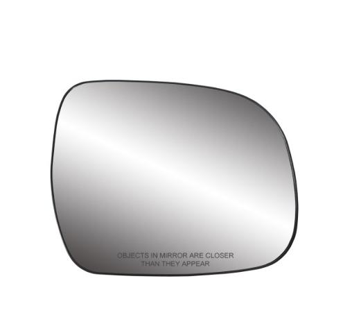 For 10-13 Highlander Right Passenger Side Mirror Glass Heated w/ Holder