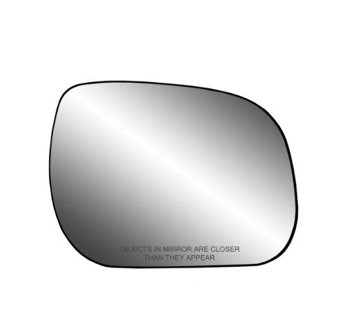 Right Passenger Convex Side Mirror Glass w/ Holder for 09-12 Rav4 USA Built Only