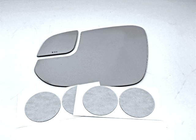 Fits 16-18 Rav4 Left Driver Mirror Glass Lenses w/Silicone w/out Rear Holder