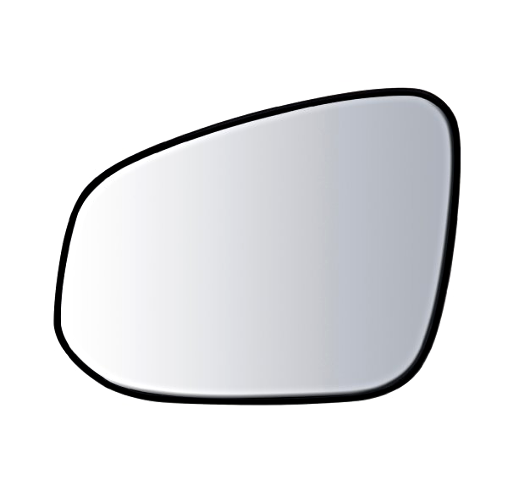 Fits 13-15 Toy Rav4 Left Driver Mirror Glass w/ Holder Canada Built Models