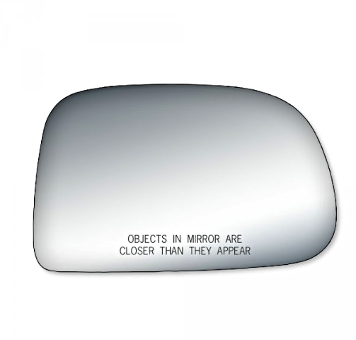 2 Options Fits 01-04 Toy Tacoma Right Pass Manual Mirror Glass Lens w/Adhesive