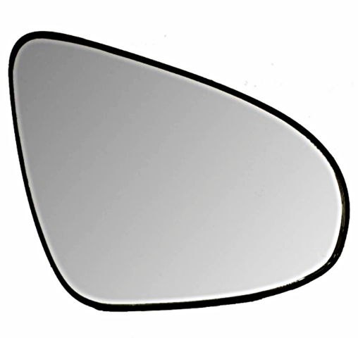 Right Passenger Mirror Glass w/ Rear Holder OE for 15-18 Toyota Yaris Manual