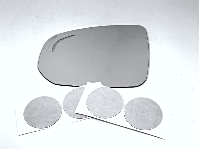 Fits 18-19 Volvo V90, XC60 Left Driver Mirror Glass Lens w/ Blind Spot Icon