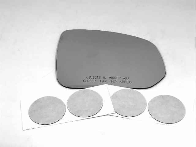 Fits 16-19 Volvo XC90 Right Pass Mirror Glass Lens w/Silicone