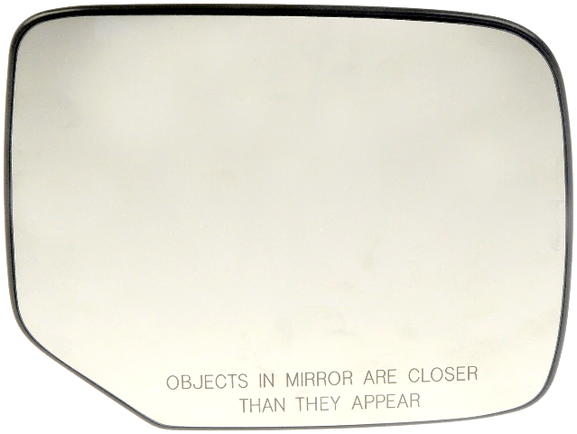 Fits 09-15 Pilot Right Pass Convex Heated Mirror Glass w/ Holder