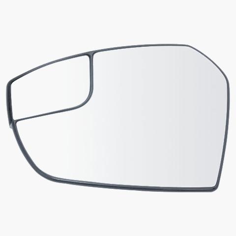 Fits 17-19 FD Escape Left Driver Side Mirror Glass w/ Holder
