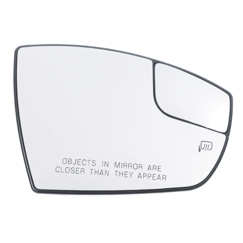 Fits 13-16 Escape, 13-18 C-MAX Right Passenger Heated Mirror Glass w/ Holder OEM