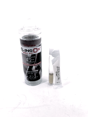 KlingON Rearview Mirror Adhesive Kit works w/Painted Surfaces on Glass