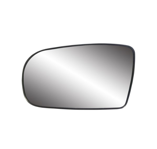 For 95-05 Cavalier, Sunfire Left Driver Mirror Glass w/ Holder