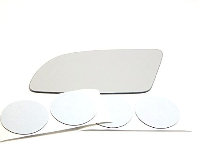 for 82-92 Camaro Firebird Left Driver Mirror Glass Lens w/Adhesive 2 Style Types