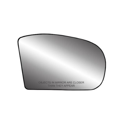 For 03-08  E Class 01-07 C Class Right Mirror Glass w/Holder Heated non Auto Dim