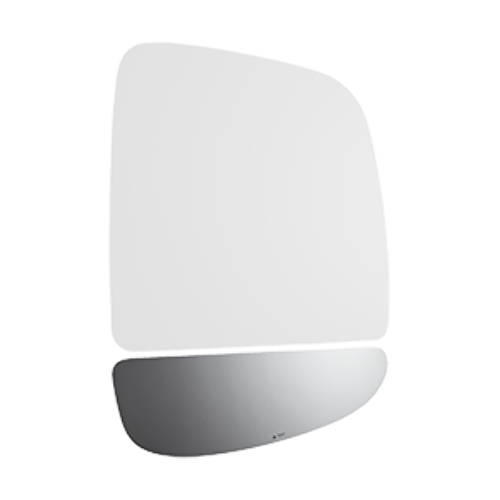 Fits 14-19 Promaster Right Pass Lower Mirror Glass Lens Cnvex Extending Arm Type