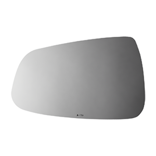 Fits 12-20 Tesla S Left Driver Replacement Mirror Glass Lens Only
