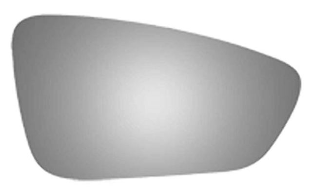 AutoMirrors Fits 15-17 Chry 200 Right Passenger Mirror Glass Lens w/Adhesive