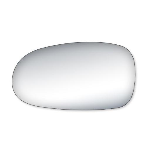 Left Driver Mirror Glass Lens Only Concorde LHS Intrepid Vision Sebring Conv.