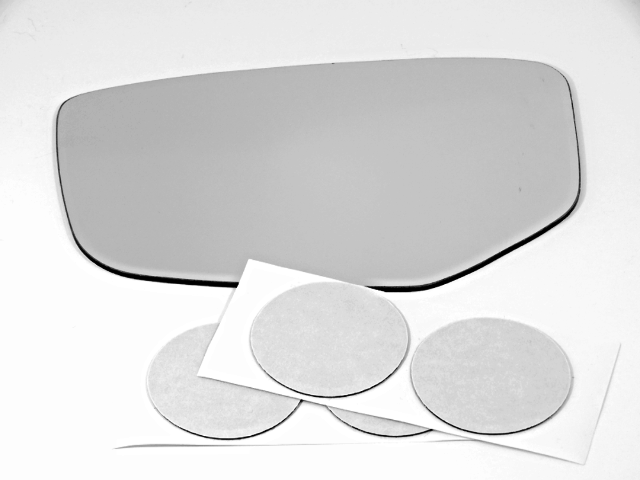 Fits 17-19 RLX Left Driver Mirror Glass Lens w/Adhesive for Auto Dim Type Only