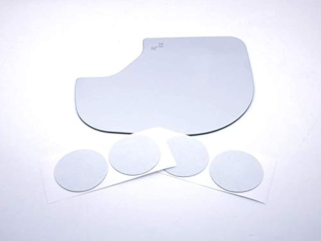 for 16-20 Titan Left Driver Mirror Glass Lens w/BlindSpot Icon Read Details as Pictured