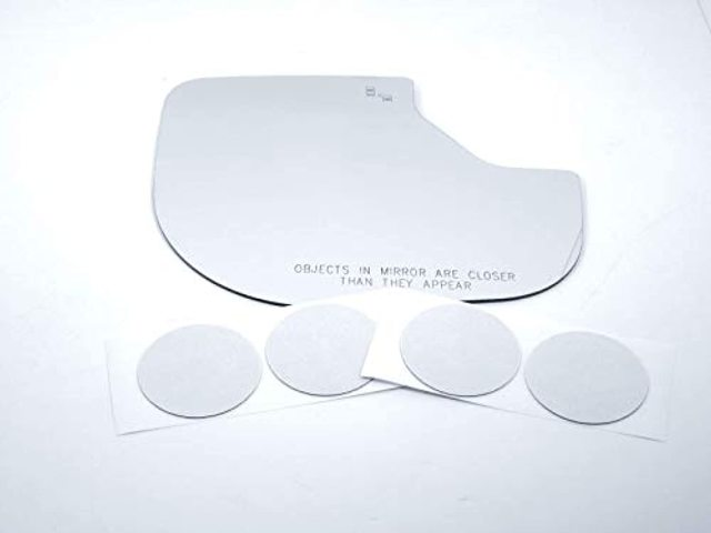 for 16-20 Titan Right Pass Mirror Glass Lens w/BlindSpot Icon Read Details as Pictured