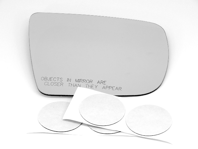 For 06-08 Forester Right Pass Mirror Glass Lens w/Silicone for Models w/Signal
