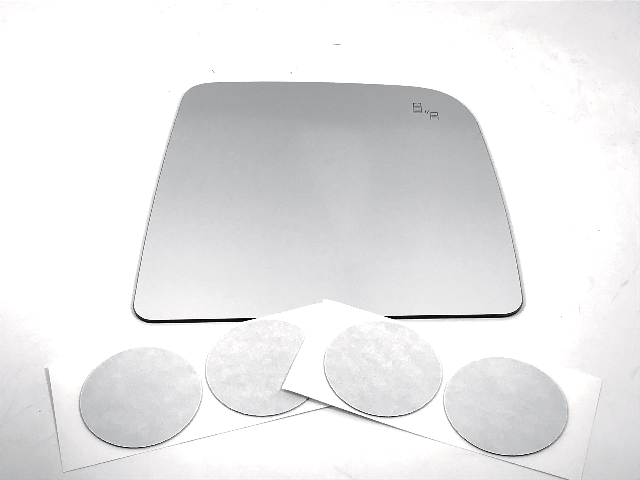 For 16-20 Titan Right Pass Upper Mirror Glass Lens w/BlindSpot Icon Read Details