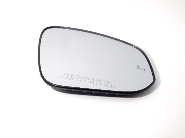Fits 13-18  Rav4 Passenger Mirror Glass w/Blind Spot Detect w/Holder OEM