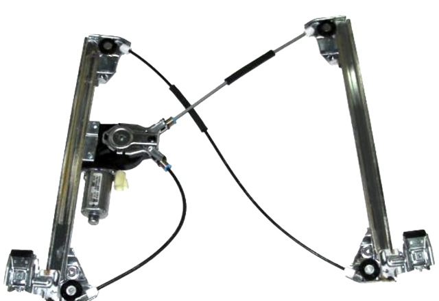 Fits 03-09 Hummer H2 Left Driver Front Window Motor Regulator w/out Auto Down