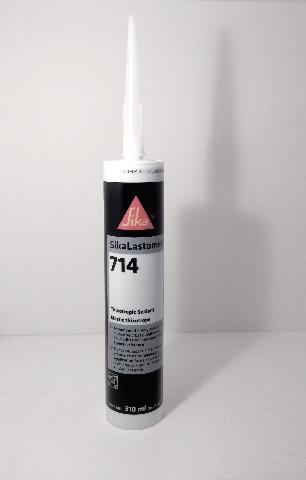 Liquid Butyl 300ml Black Sealant / Adhesive 1 Tube Sika 714 Lastomer