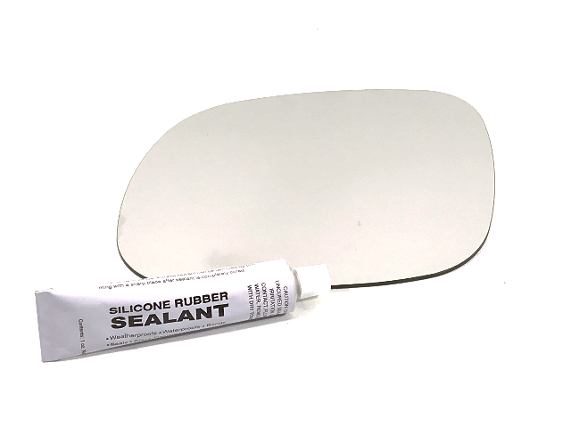 Left Driver Side Mirror Glass Lens w/Silicone for 14-19 Soul   see details
