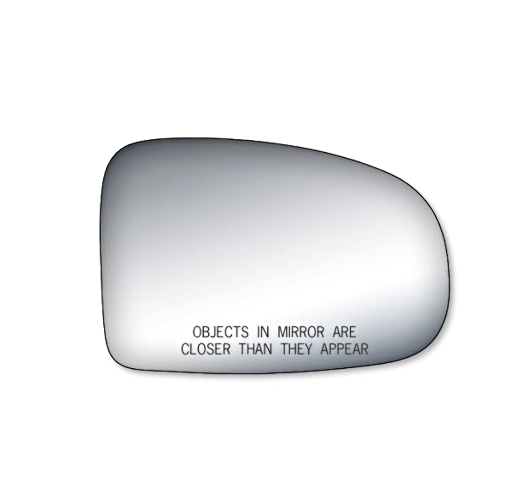Fits 10-15 Prius Right Pass Convex Mirror Glass Lens w/Silicone also Plug-in