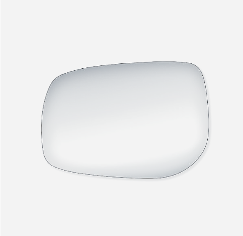 Fits 09-13 Corolla, Matrix, Pont Vibe Left Driver Mirror Glass Lens W/ Silicone